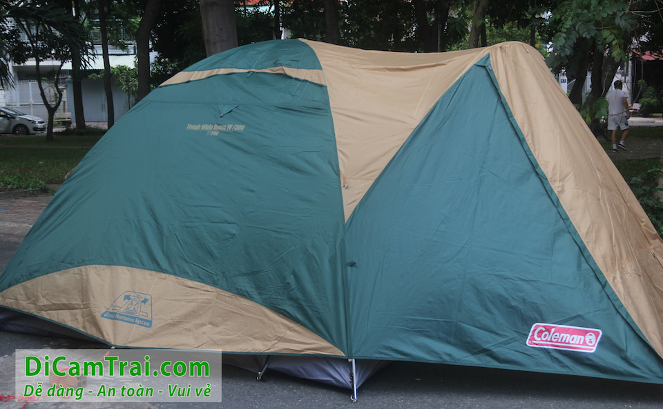 Lều 8 người coleman