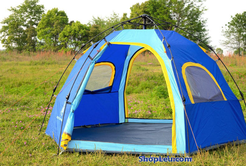 lều cắm trại 6 người tự bung