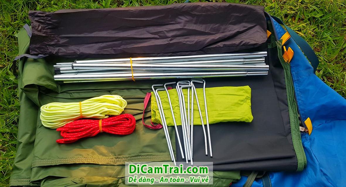 thuê lều cắm trại chữ A